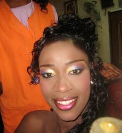 Make-up done