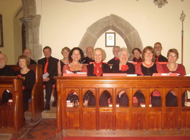 The Ingleheart Singers, bass, tenor and alto