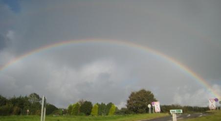 Rainbow at 70mph