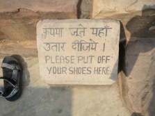 Outside every temple