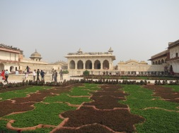 Tessallated gardens at the Fort