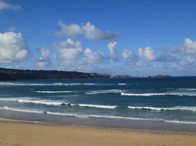 November 2012 - Looking towards St Ives from Hayle Towans