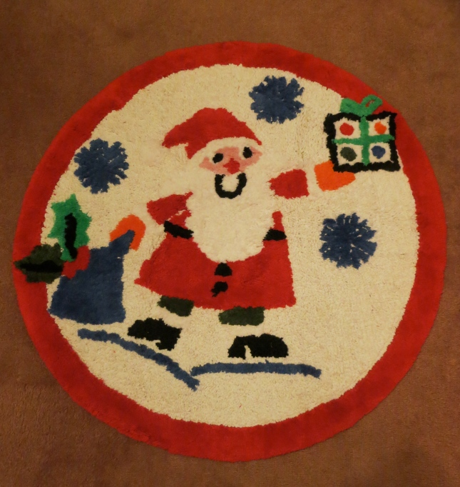Father Christmas mat