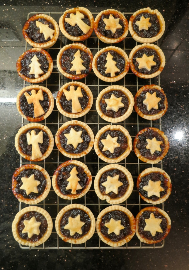 First mince pies of 2012