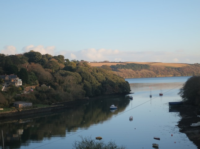 Pill Creek - my first view of Cornwall when I was 6