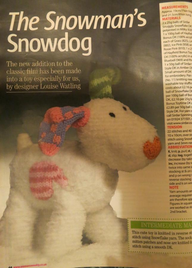 The Snowman's Snowdog