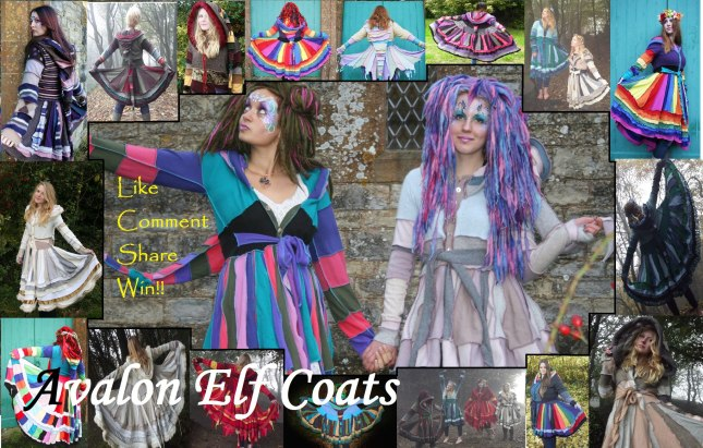Beautiful Avalon Elf Coats