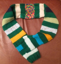 Scarf for Grand-baby J