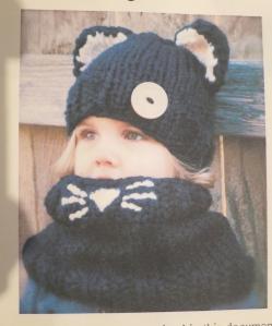 Knitting pattern for The Caitlynn Cat Set