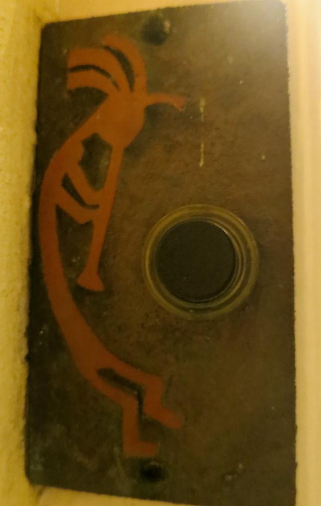Kokopelli doorbell