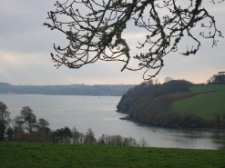 Looking across to Mylor
