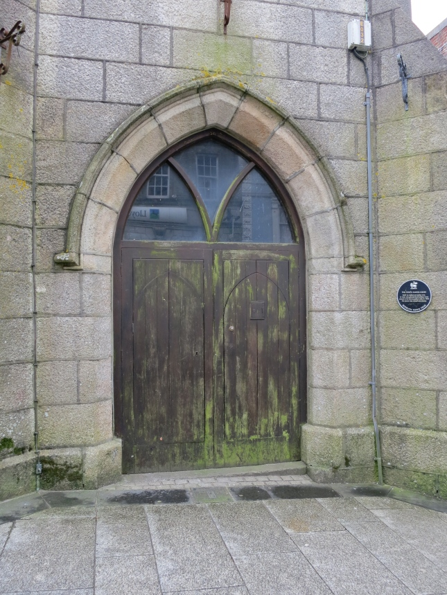 Door in the Clock Tower, to the prison cells perhaps