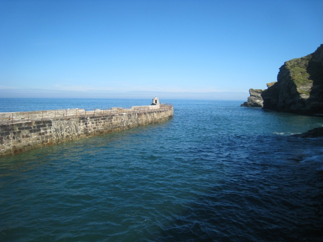 Portreath Harbour July 2012