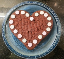 The main cake for my Valentine
