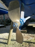 Two blade propeller
