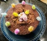 """Isn't our cake beautiful, Granny?"""