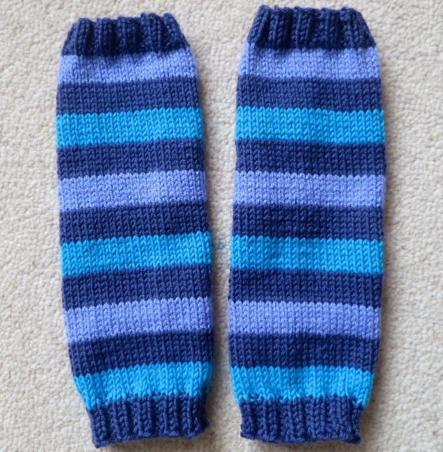 Baby leg warmies
