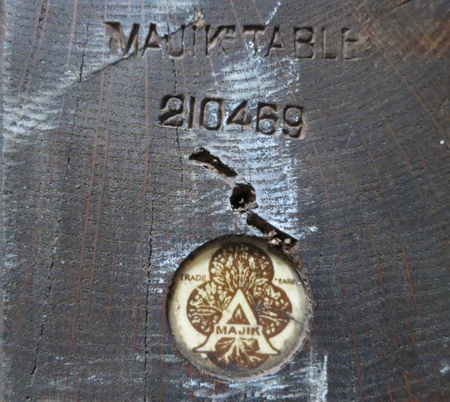Majik mark and number