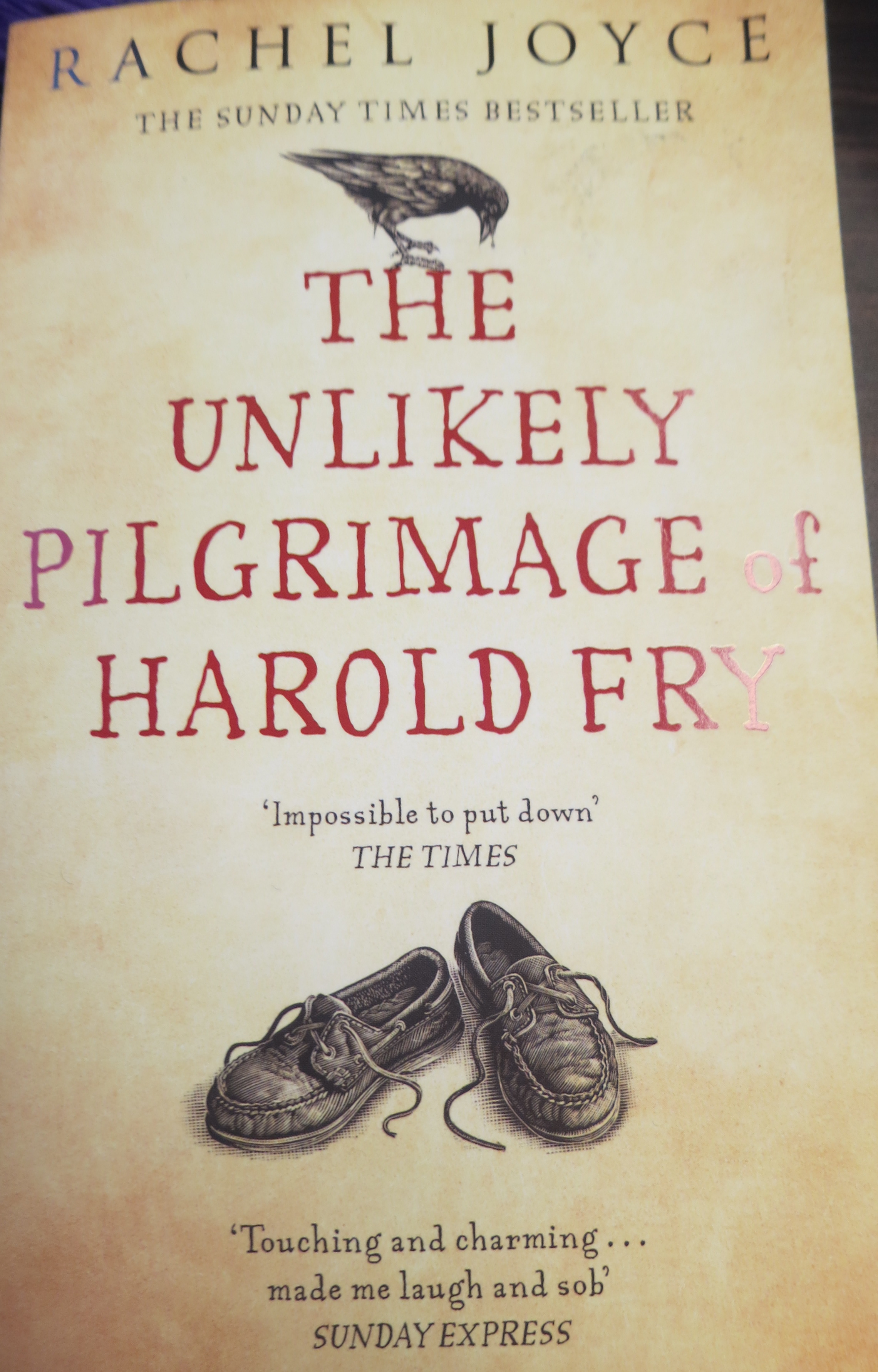 a reflection on writing an essay about the unlikely pilgrimage of harold fry You will study a shakespeare text and a collection of critical essays, the latter  enabling  the unlikely pilgrimage of harold fry philip roth  reflections  title.