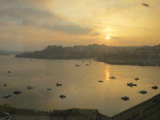 Sunset over the Tamar