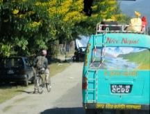 ' Nice' bus in Napal
