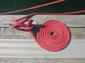 Beautifully kept rope