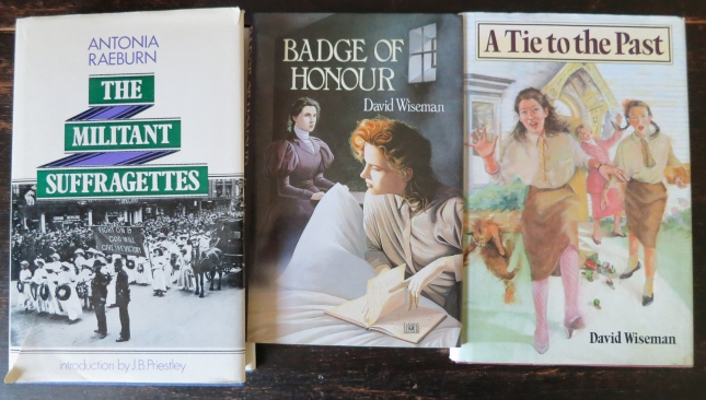 Books we were using, 'Badge of Honour' (UK) and 'Tie to the Past' (USA title) written by my Dad