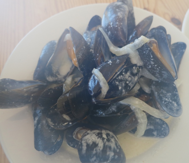 Cornish Mussels