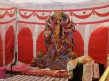 Festival shrine in Sarnath