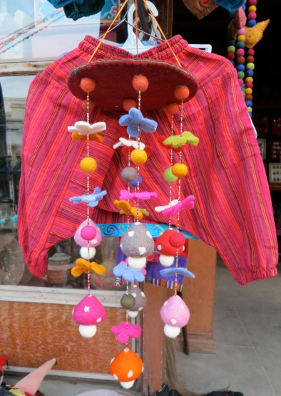 In the market, Kathmandu