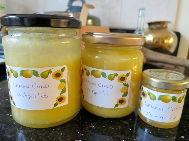 Just made Lemon Curd