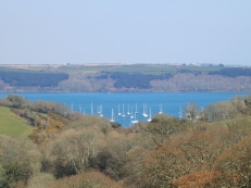View on our way to Mylor