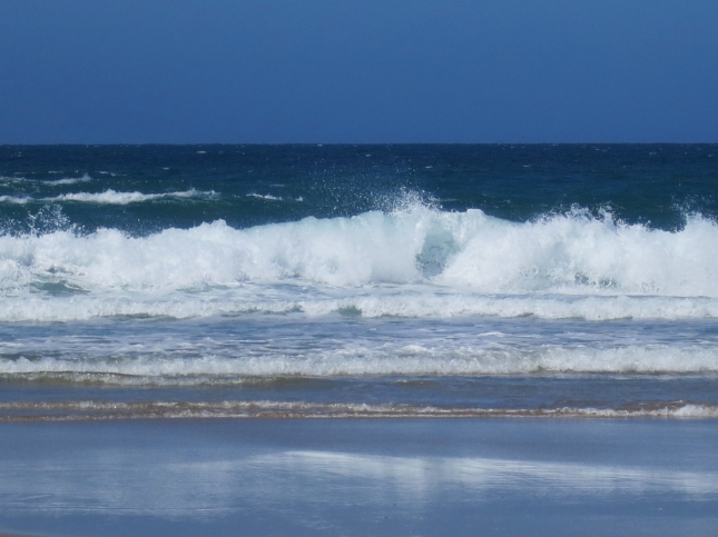 Waves at Porthtowan