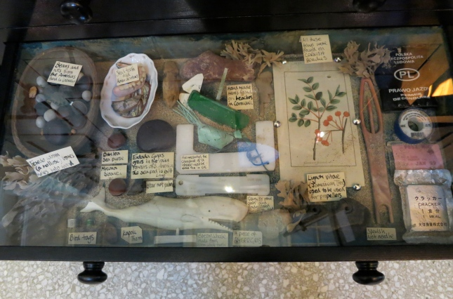 Drawer in the Cabinet, all found on Cornish beaches
