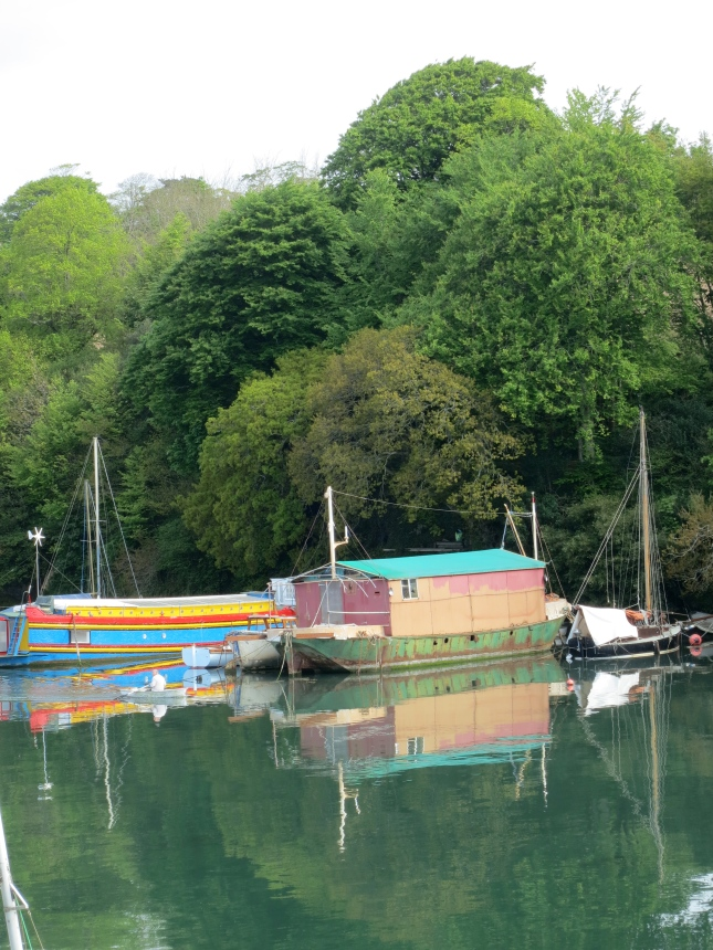 Houseboats on the Penryn River