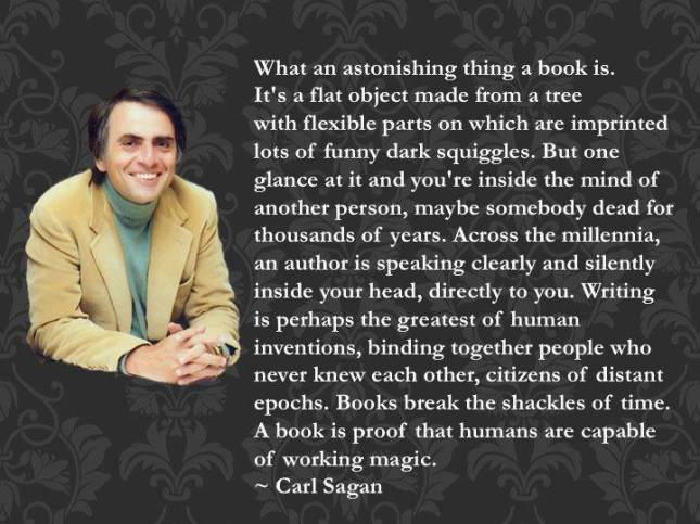 Books by Carl Sagan