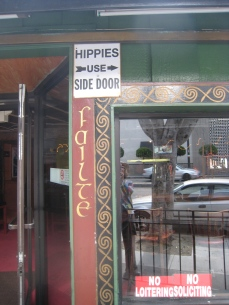 Loved this in SF. I used the side door!