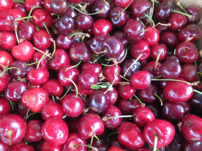 Precious and very expensive cherries