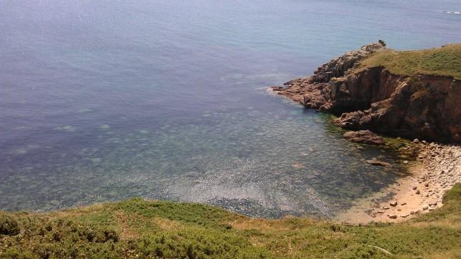 Beach near Porthcurno