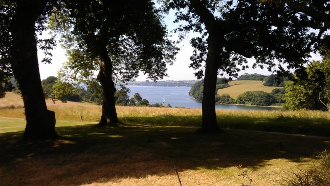 From the gardens across to Mylor