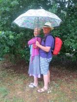 Co-ordinated in the rain!