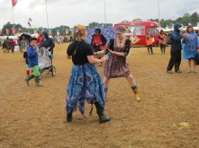 Dancing in wellies
