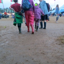 Family of wellies