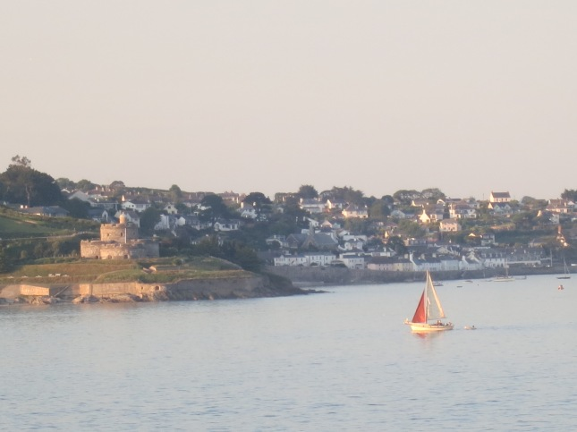 Looking across to St Mawes