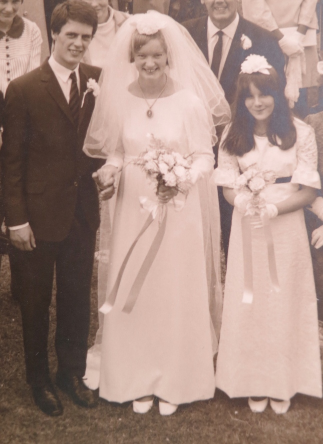 Wedding Day 26th August 1967