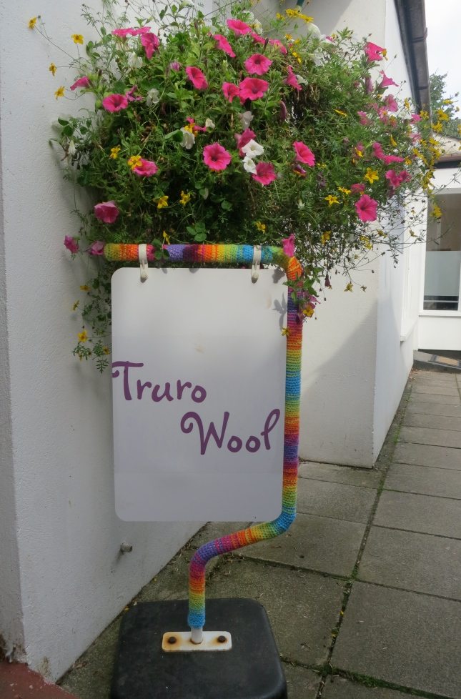 Truro wool shop sign - who could resist?