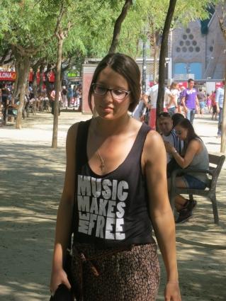 Music makes me free