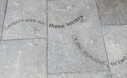Pavement poetry