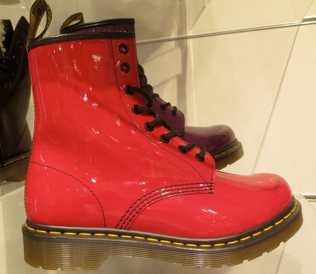 Red Doc Martens