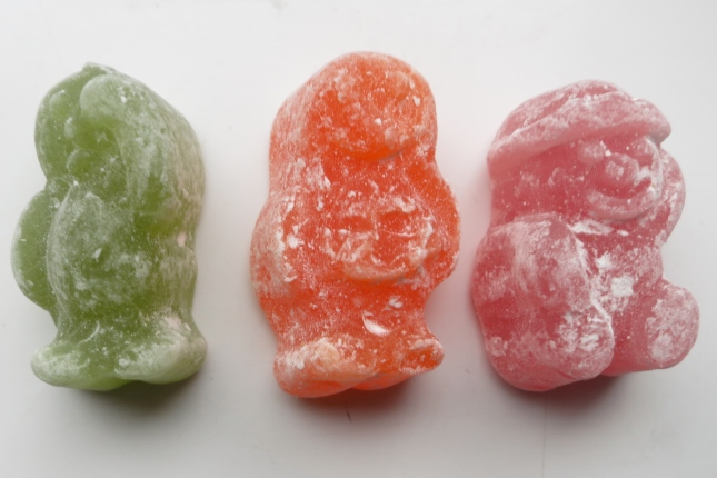 The last three Jelly Babies